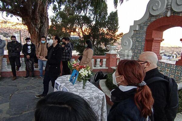 Despedida al periodista boliviano Boris Miranda, fallecido en EEUU - Sputnik Mundo