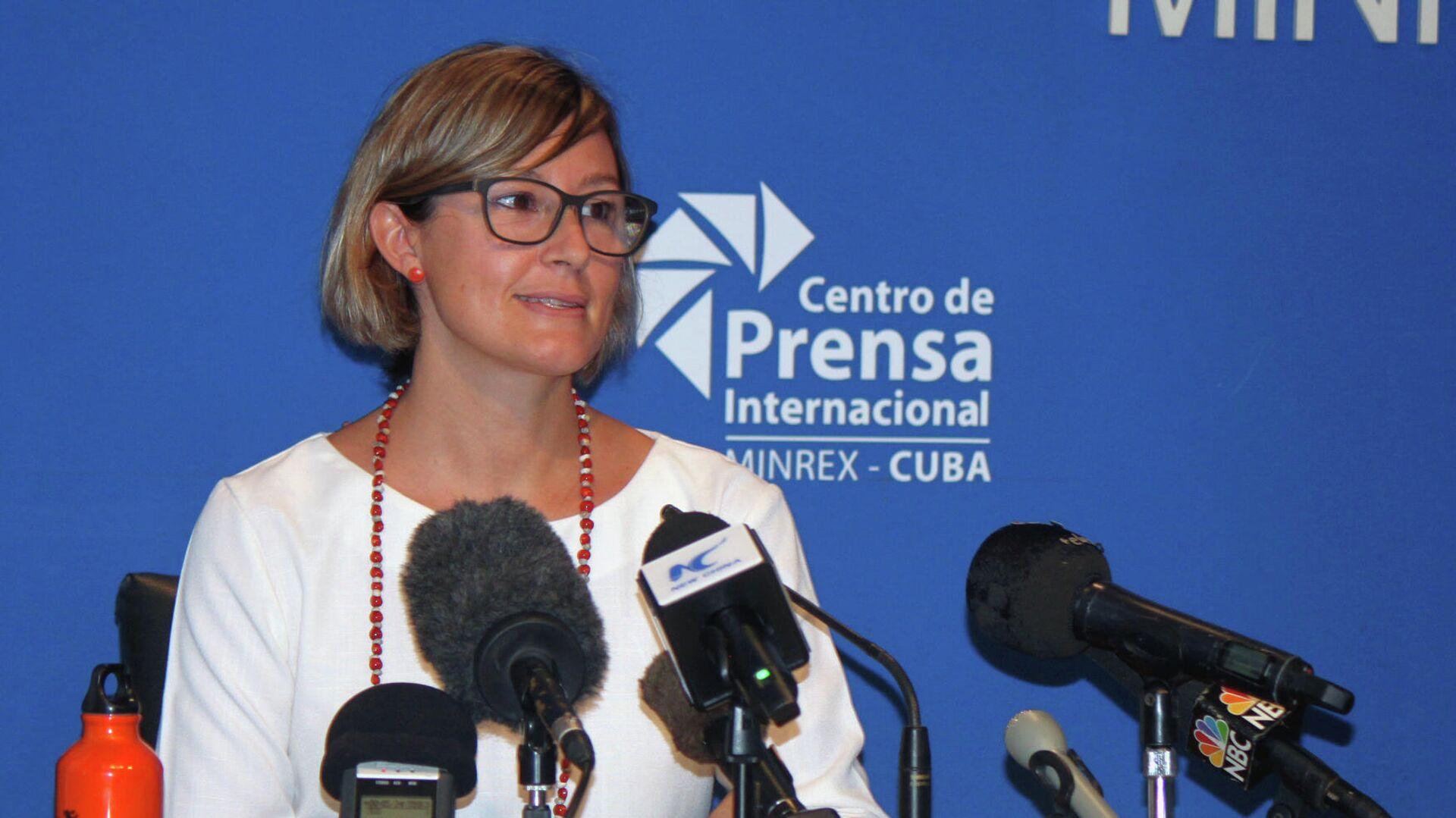 Elena Gentili, directora de OXFAM en Cuba - Sputnik Mundo, 1920, 26.05.2021