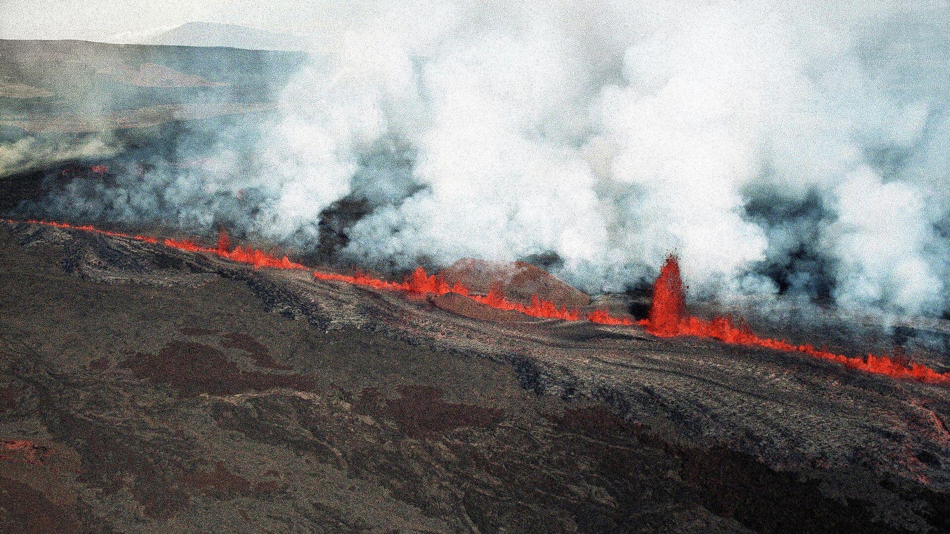 Una erupción del Mauna Loa en 1984 - Sputnik Mundo, 1920, 26.05.2021