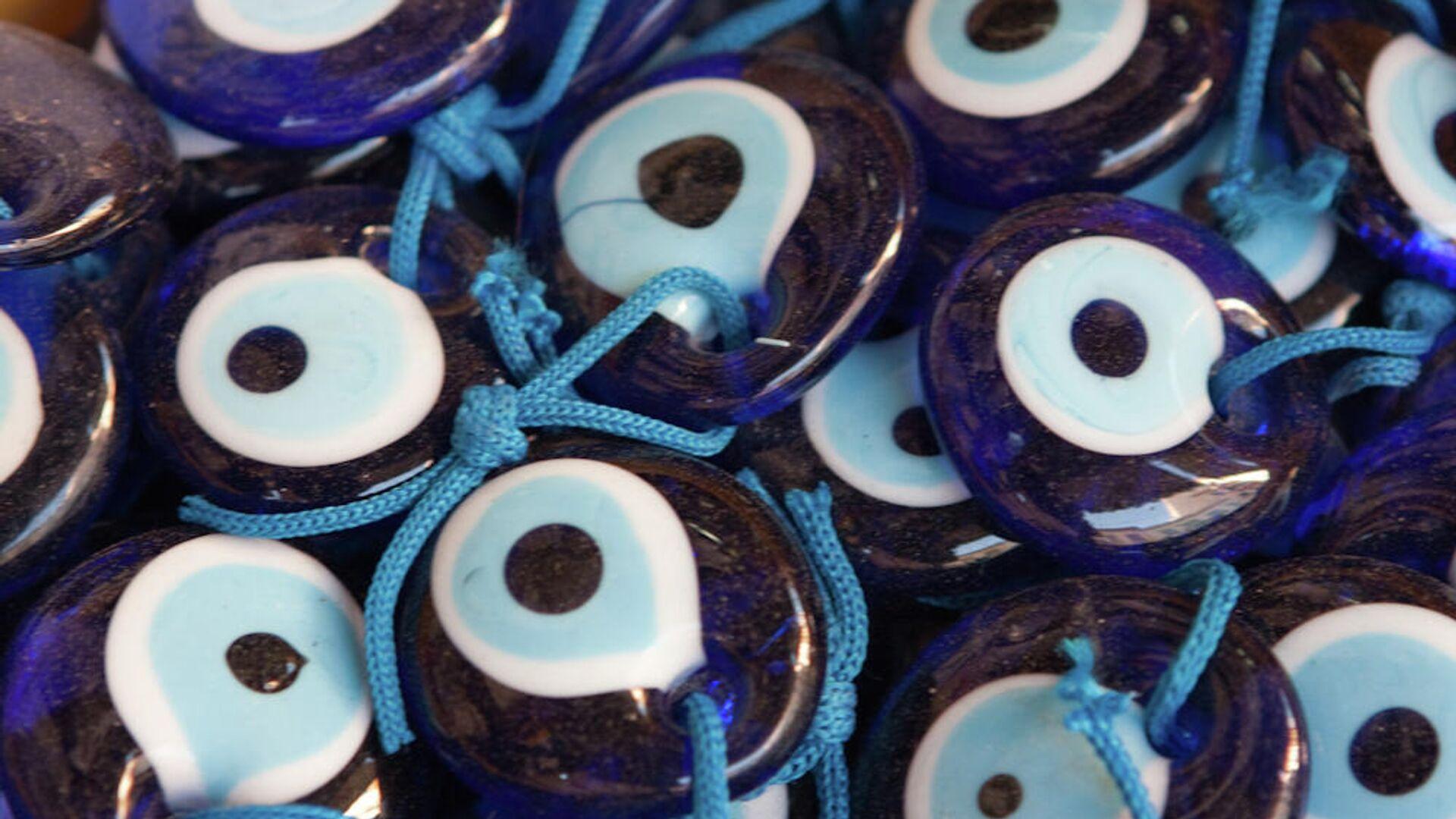 Un ojo hecho de cristal azul, amulet que protege del mal de ojo - Sputnik Mundo, 1920, 26.05.2021