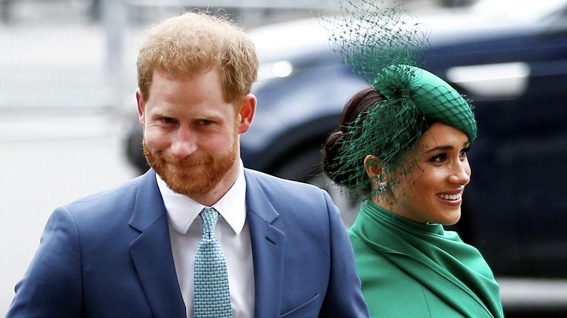 El príncipe Harry y su esposa, Meghan Markle - Sputnik Mundo, 1920, 26.05.2021