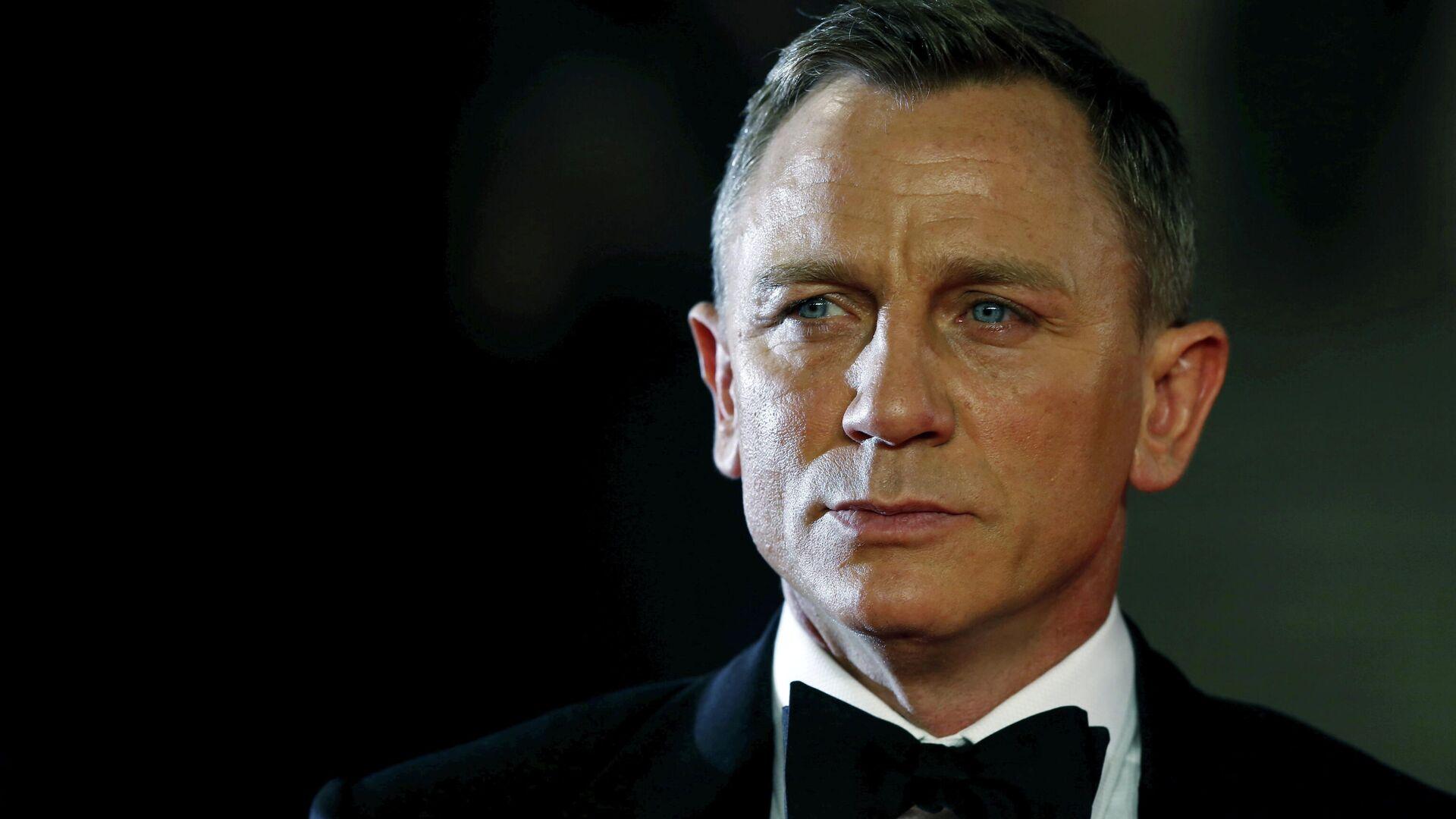 Daniel Craig, actor británico, en la ceremonia de estreno de la película Spectre - Sputnik Mundo, 1920, 26.05.2021