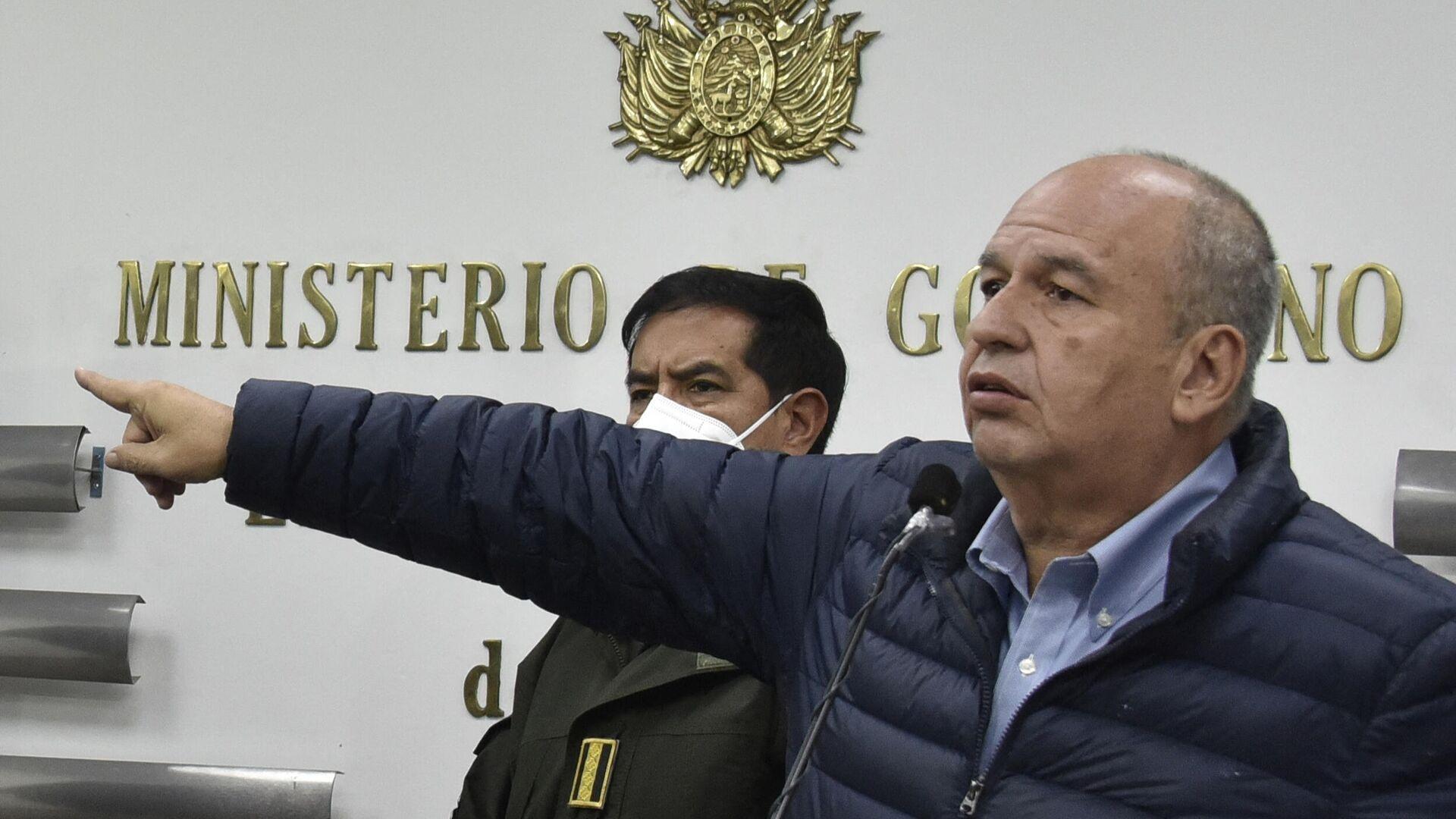 Arturo Murillo , exministro de Gobierno de Bolivia - Sputnik Mundo, 1920, 26.05.2021