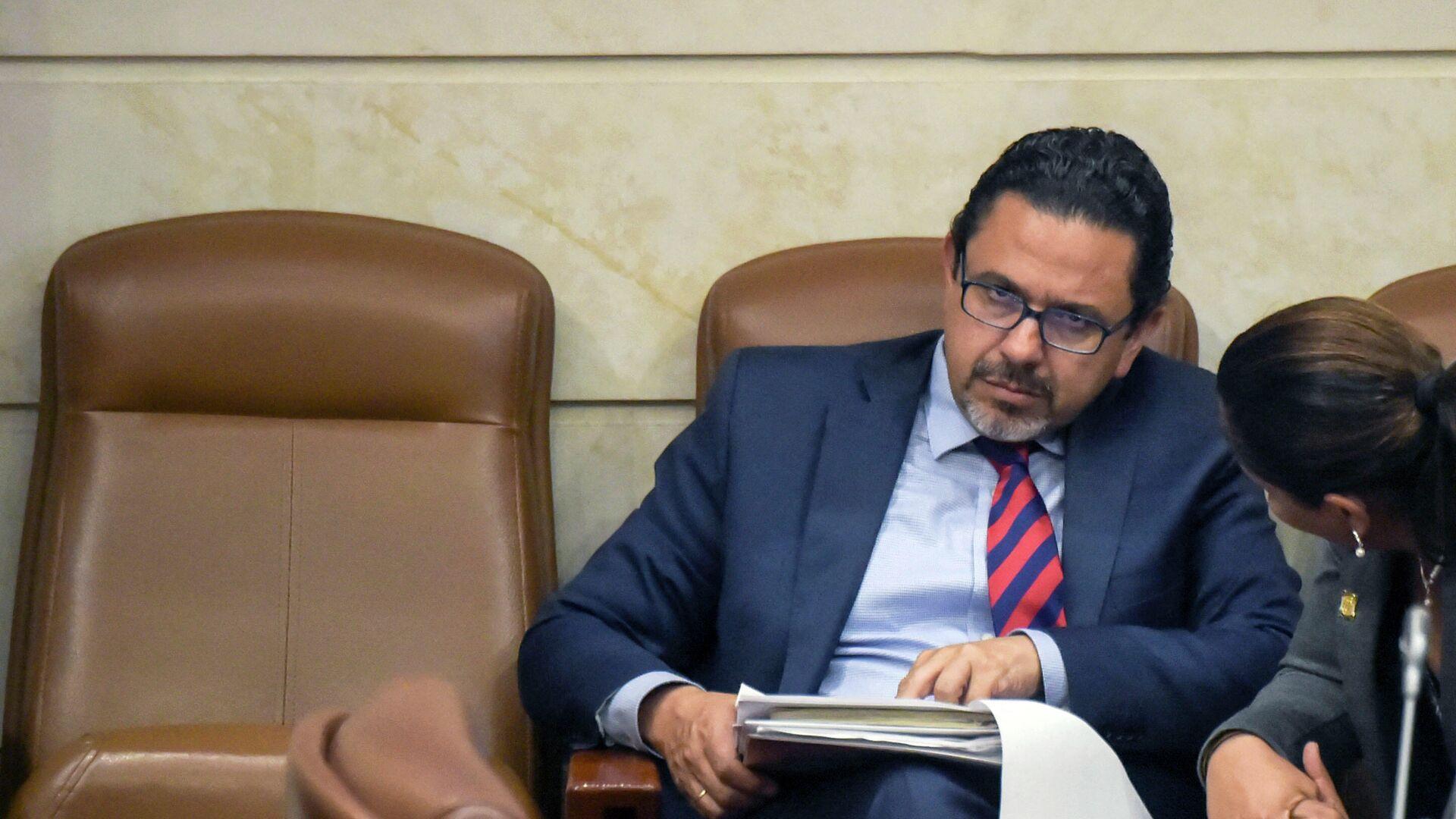Miguel Ceballos, ex alto comisionado para la paz de Colombia - Sputnik Mundo, 1920, 26.05.2021