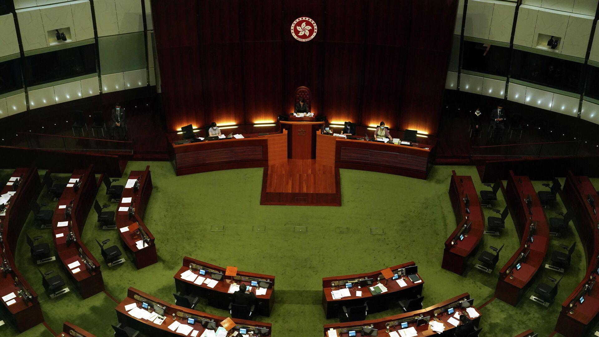 Consejo Legislativo en Hong Kong - Sputnik Mundo, 1920, 27.05.2021