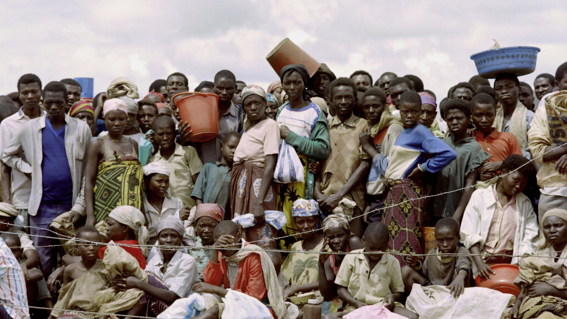 Refugiados de Ruanda (archivo) - Sputnik Mundo, 1920, 27.05.2021