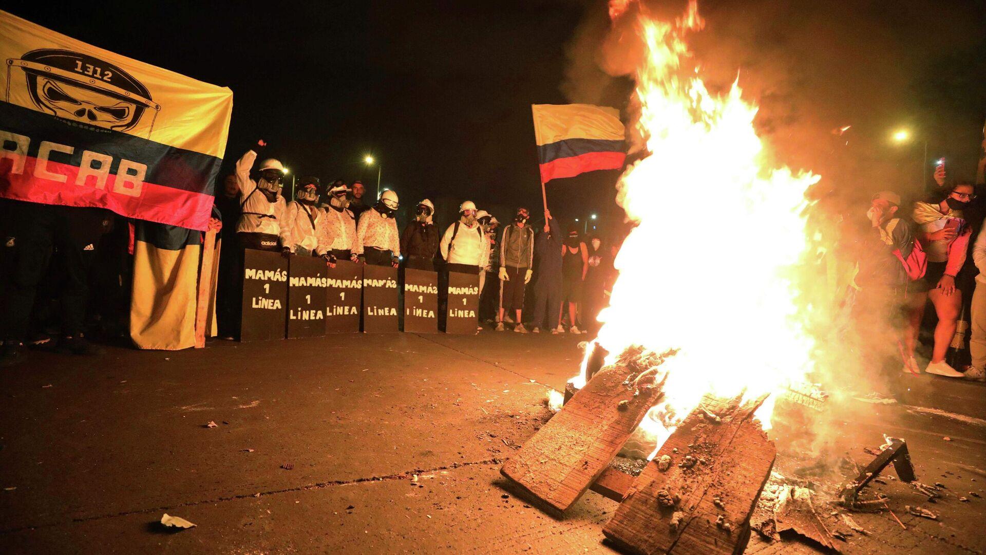 Protestas en Colombia - Sputnik Mundo, 1920, 07.07.2021