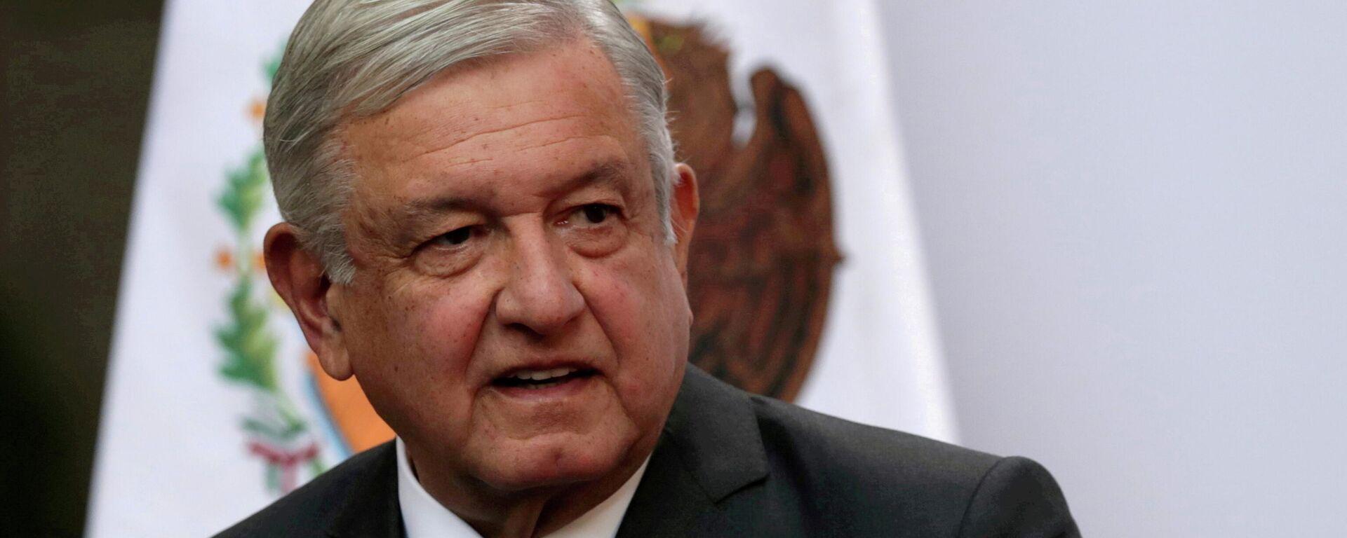 Andrés Manuel López Obrador, presidente de México - Sputnik Mundo, 1920, 14.06.2021