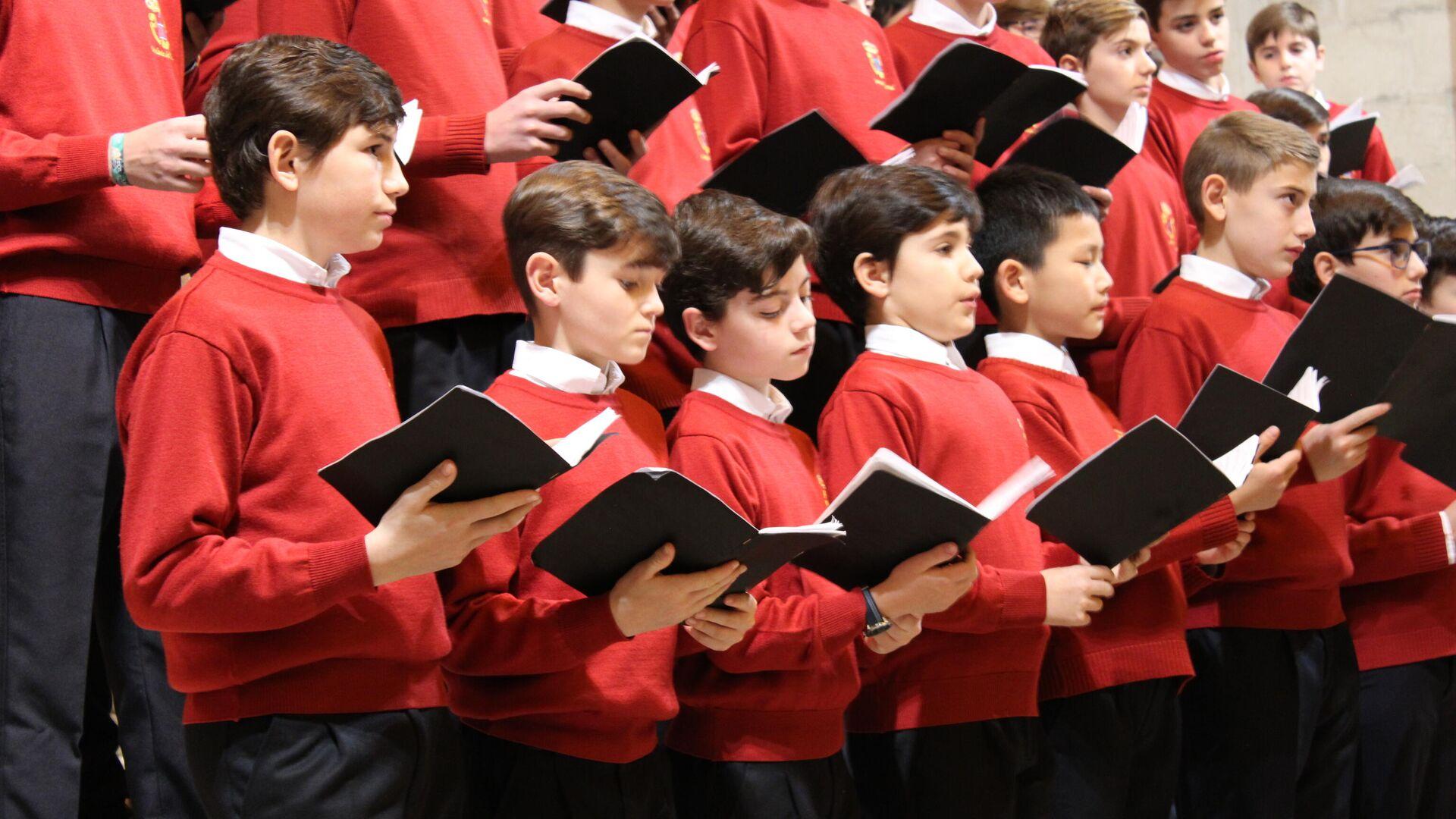 Coro del Real Monasterio de San Lorenzo del Escorial - Sputnik Mundo, 1920, 28.05.2021