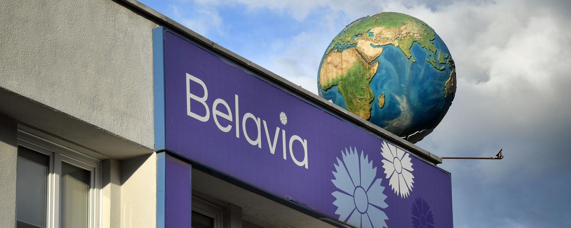 Logo de la aerolínea bielorrusa Belavia - Sputnik Mundo, 1920, 28.05.2021