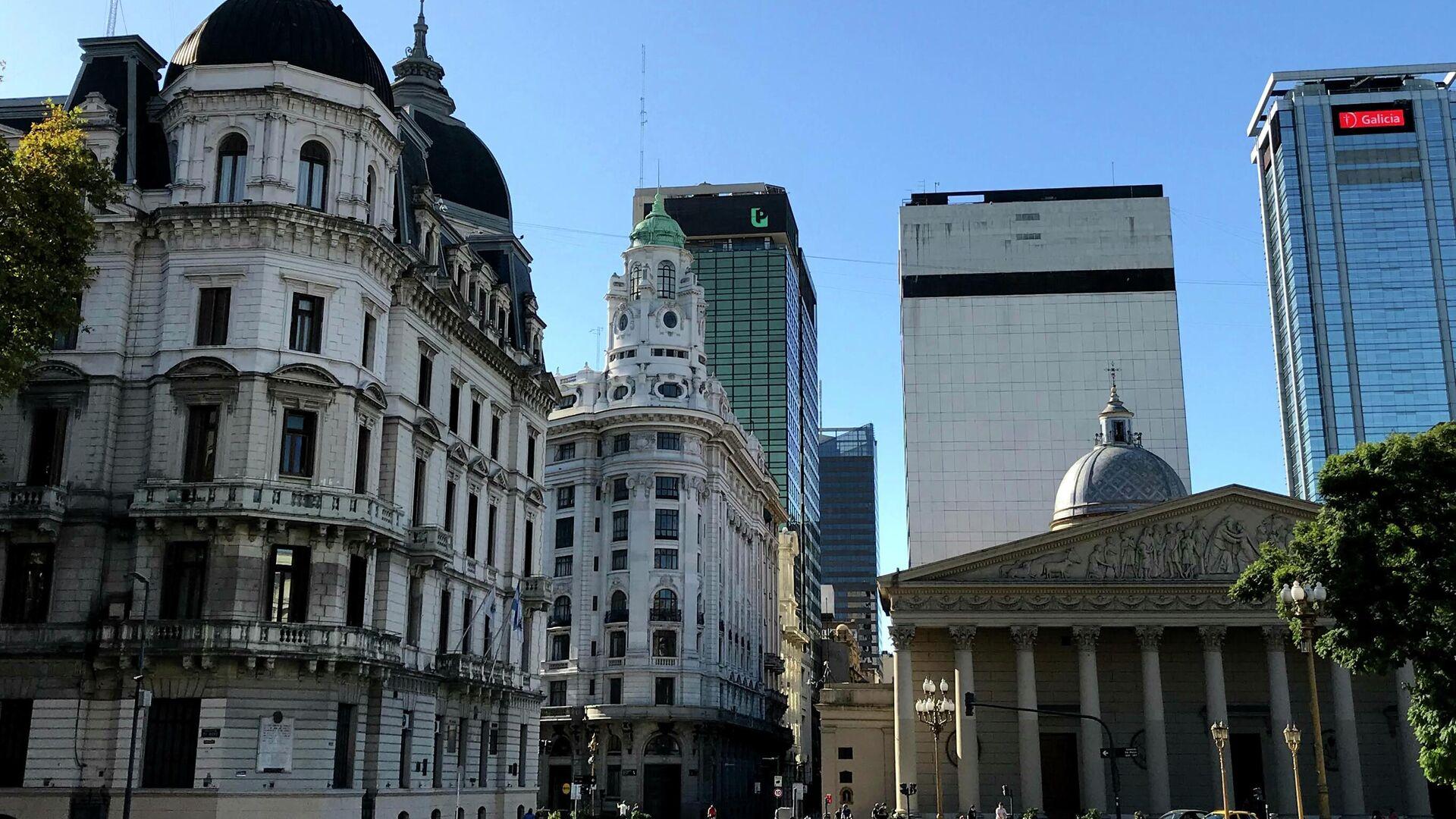 Buenos Aires, la capital de Argentina - Sputnik Mundo, 1920, 08.09.2021