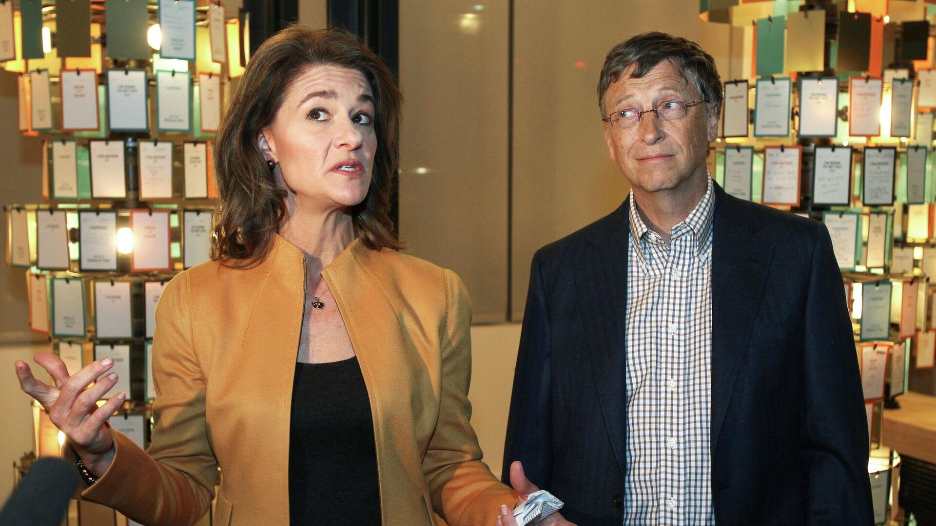 Bill y Melinda Gates en 2012 - Sputnik Mundo, 1920, 28.05.2021