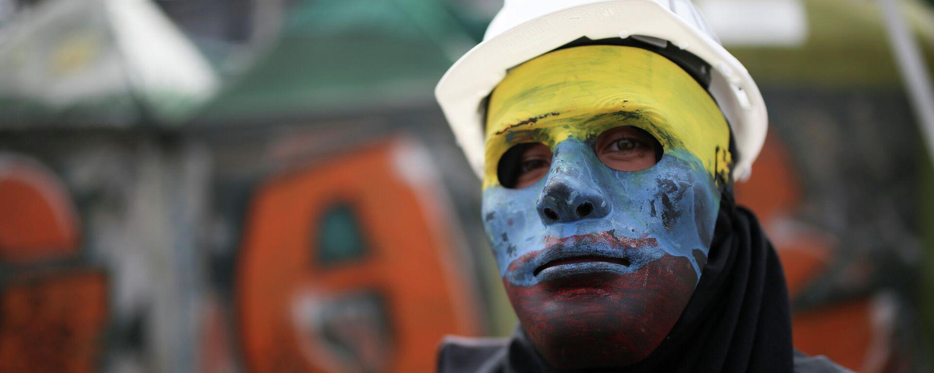 Protesta en Colombia - Sputnik Mundo, 1920, 28.05.2021