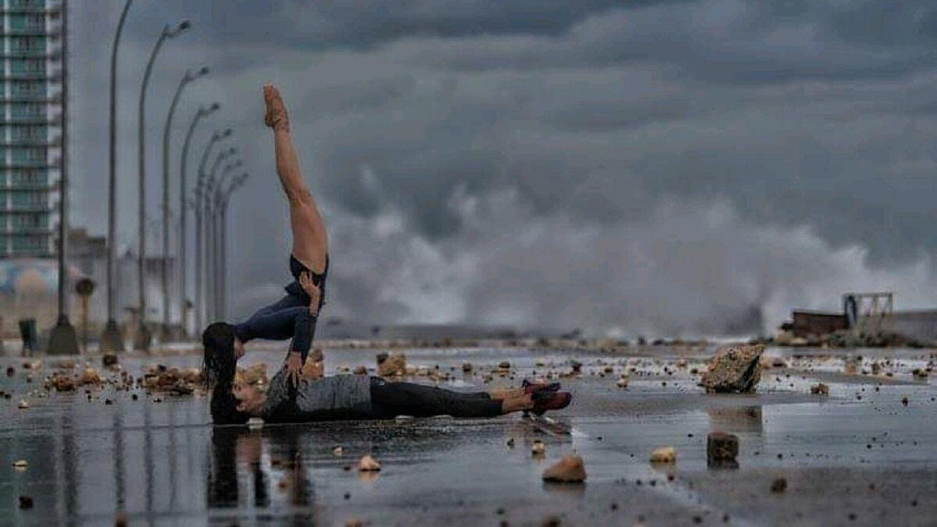 Proyecto artístico del fotógrafo Gabriel Dávalos con bailarines del Ballet Nacional de Cuba - Sputnik Mundo, 1920, 29.05.2021