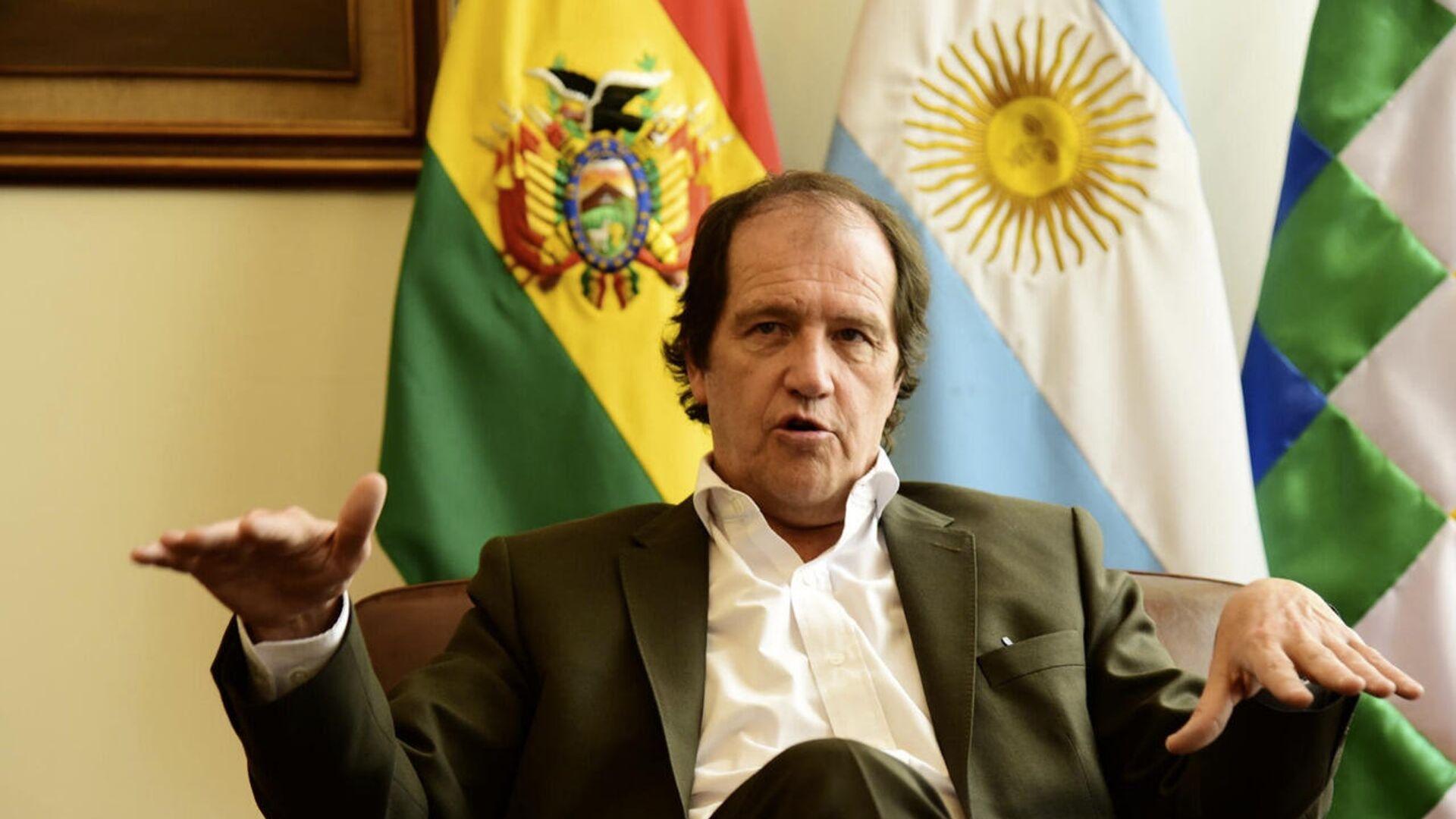 Ariel Basteiro, embajador de Argentina en Bolivia - Sputnik Mundo, 1920, 29.05.2021