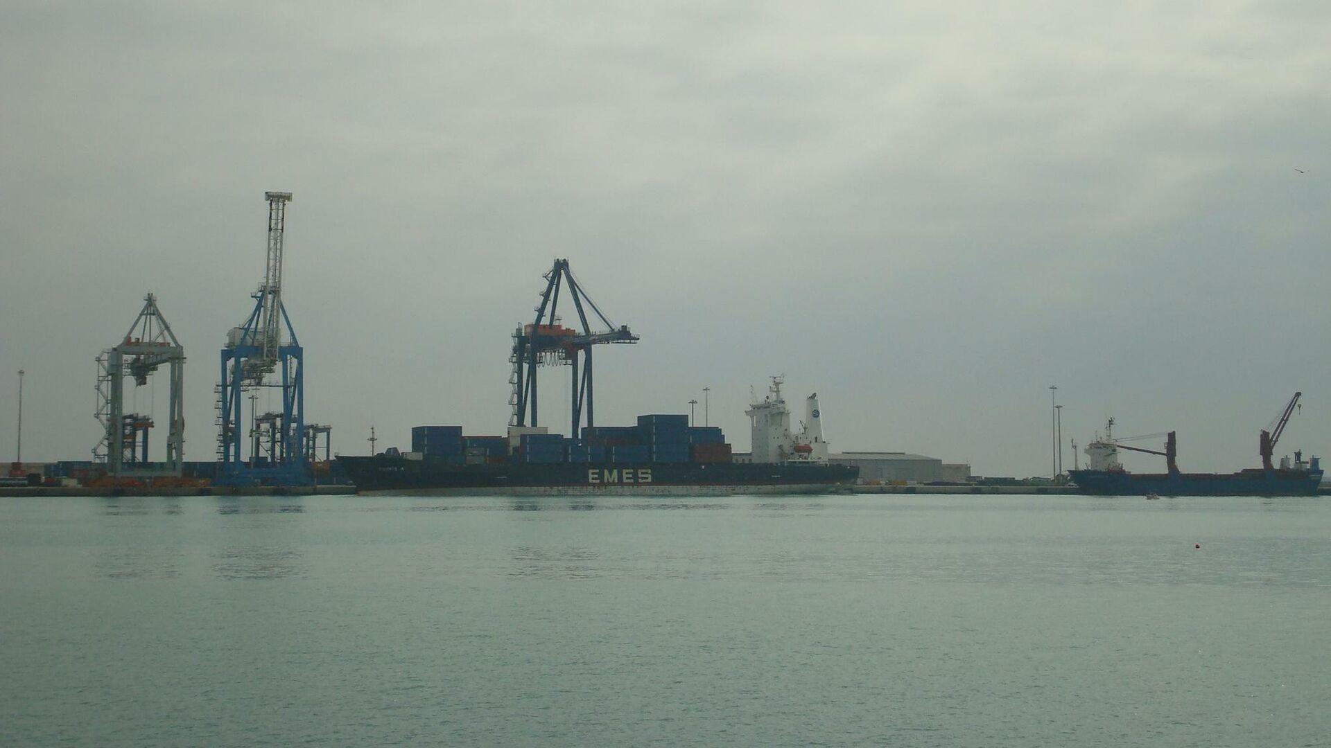 Buques de carga en el puerto de Castellón - Sputnik Mundo, 1920, 29.05.2021
