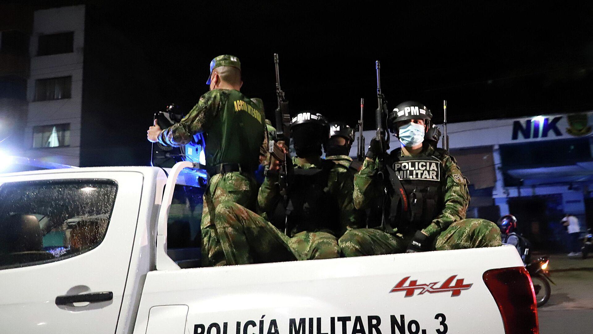 Cuerpos de la Policía Militar en Cali (Colombia), el 29 de mayo del 2021 - Sputnik Mundo, 1920, 30.05.2021