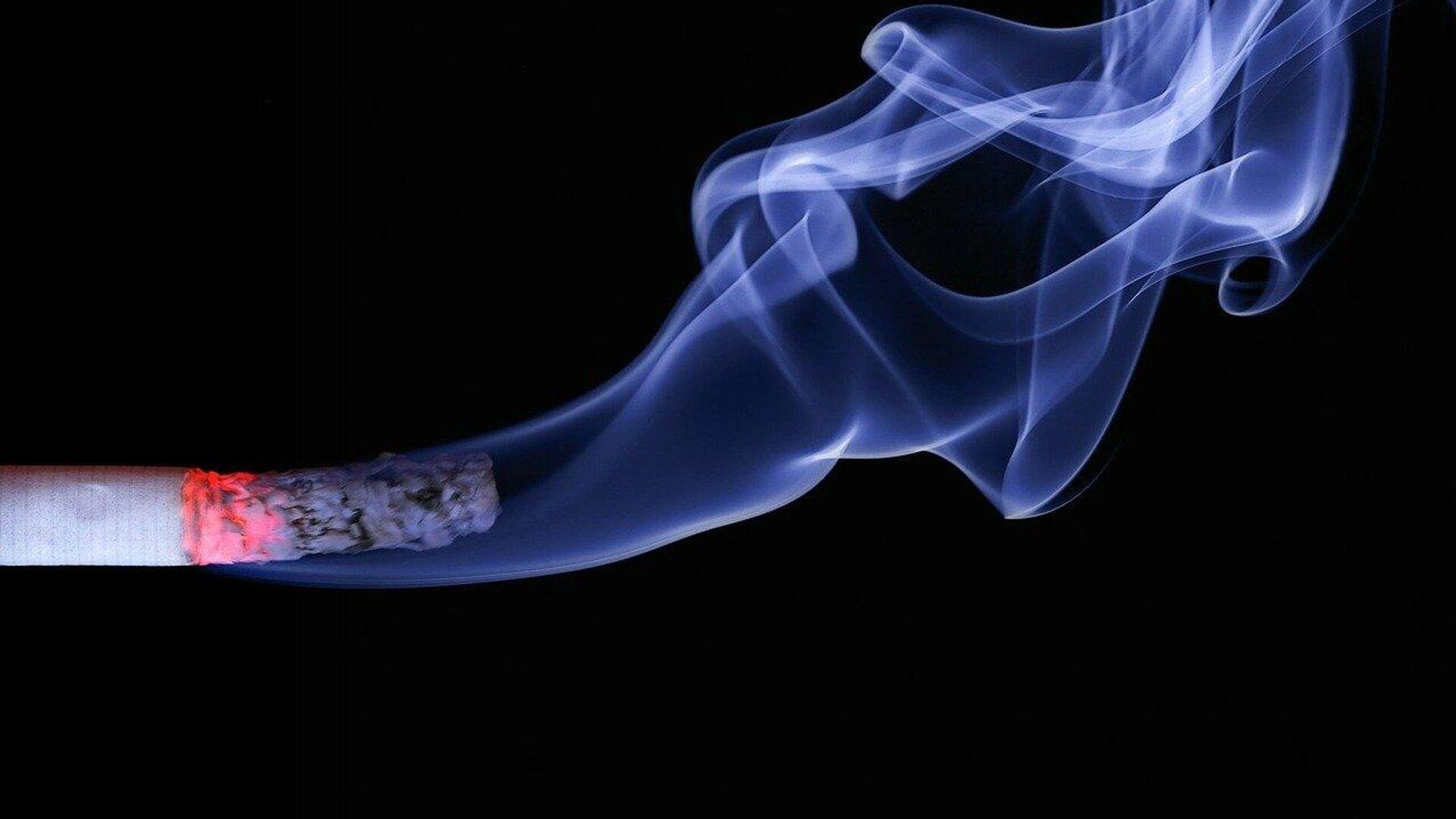 Un cigarrillo (referencial) - Sputnik Mundo, 1920, 30.05.2021