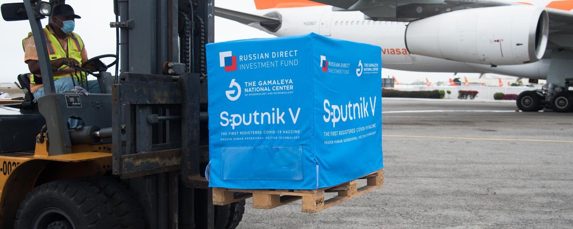 Arriba a Venezuela un cargamento de la vacuna rusa Sputnik V (Archivo) - Sputnik Mundo, 1920, 30.05.2021