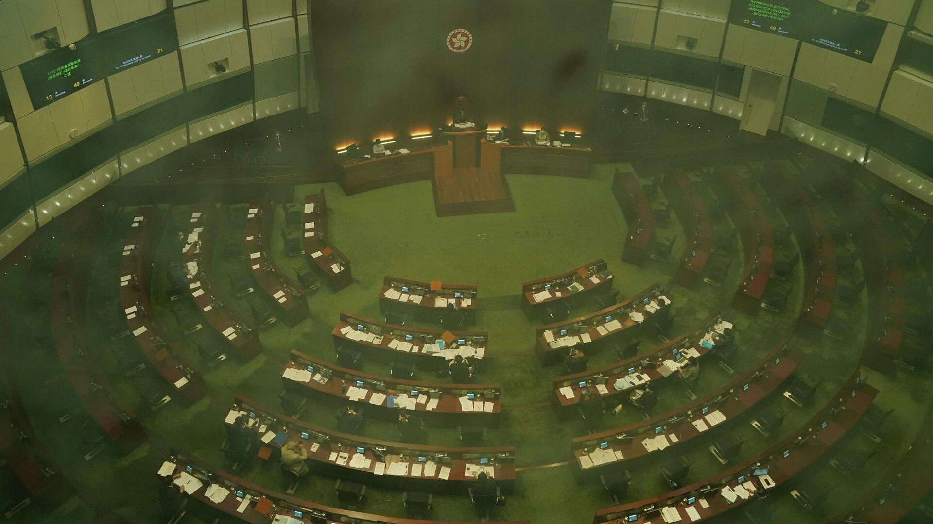 Consejo Legislativo en Hong Kong - Sputnik Mundo, 1920, 31.05.2021