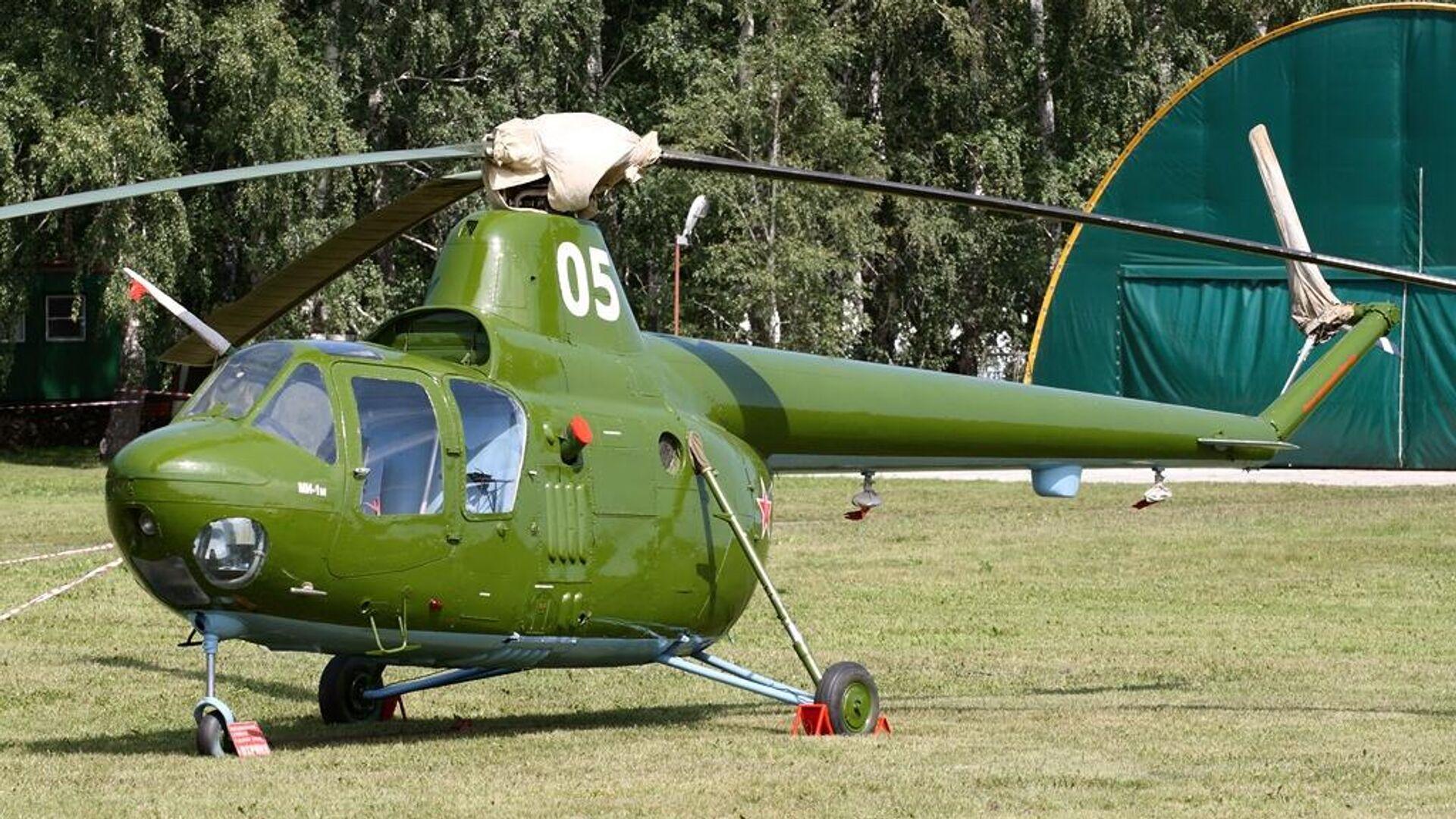 Un helicóptero Mi-1  - Sputnik Mundo, 1920, 31.05.2021