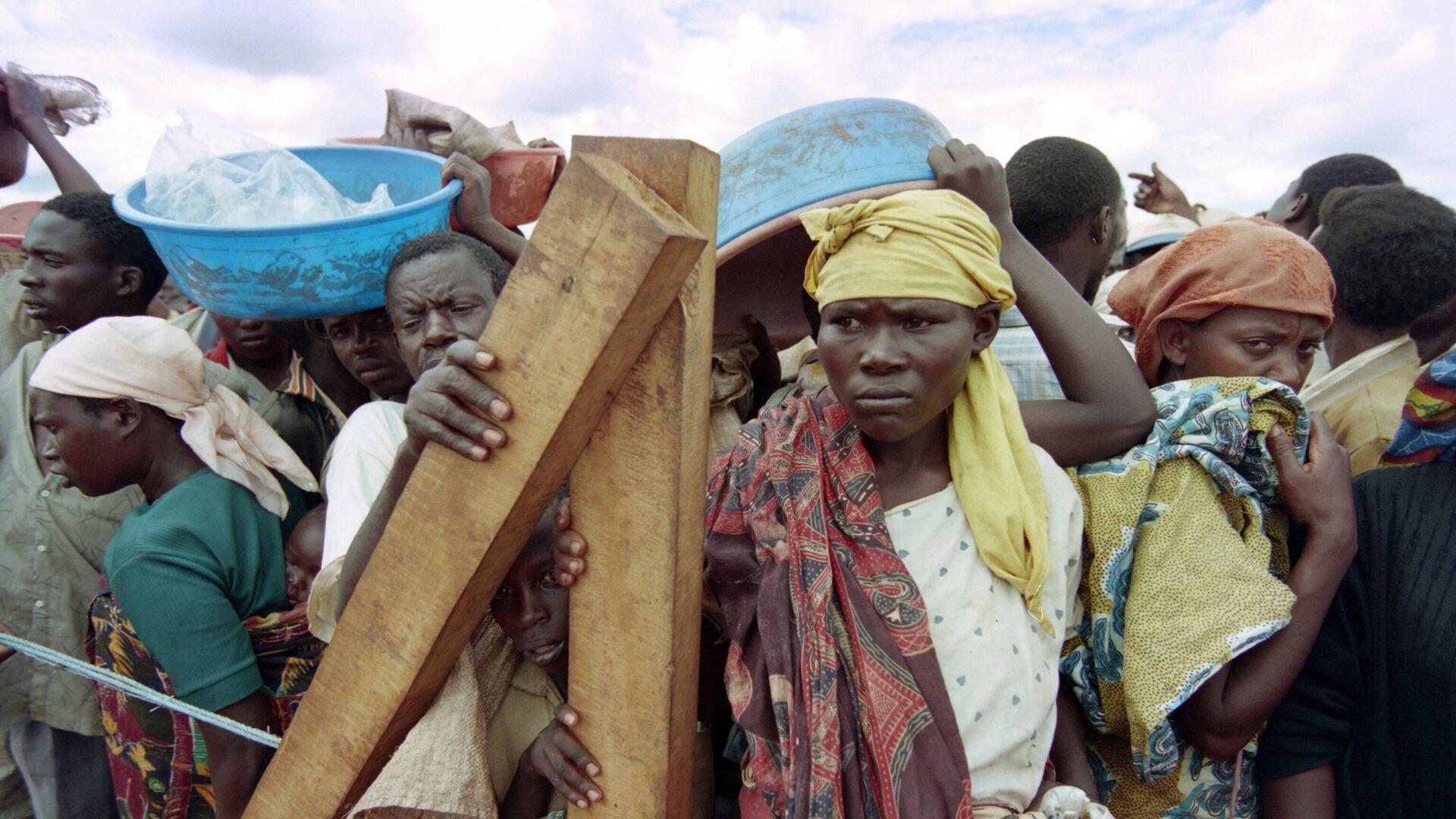 Refugiados de Ruanda (archivo) - Sputnik Mundo, 1920, 31.05.2021