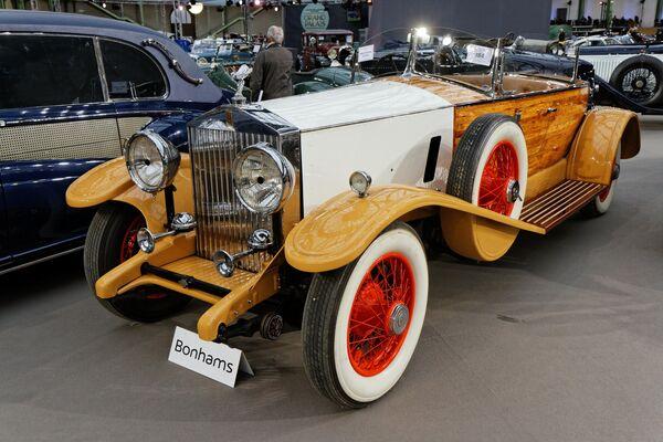 Un Rolls-Royce Phantom II Boat Tail Tourer 1932 - Sputnik Mundo