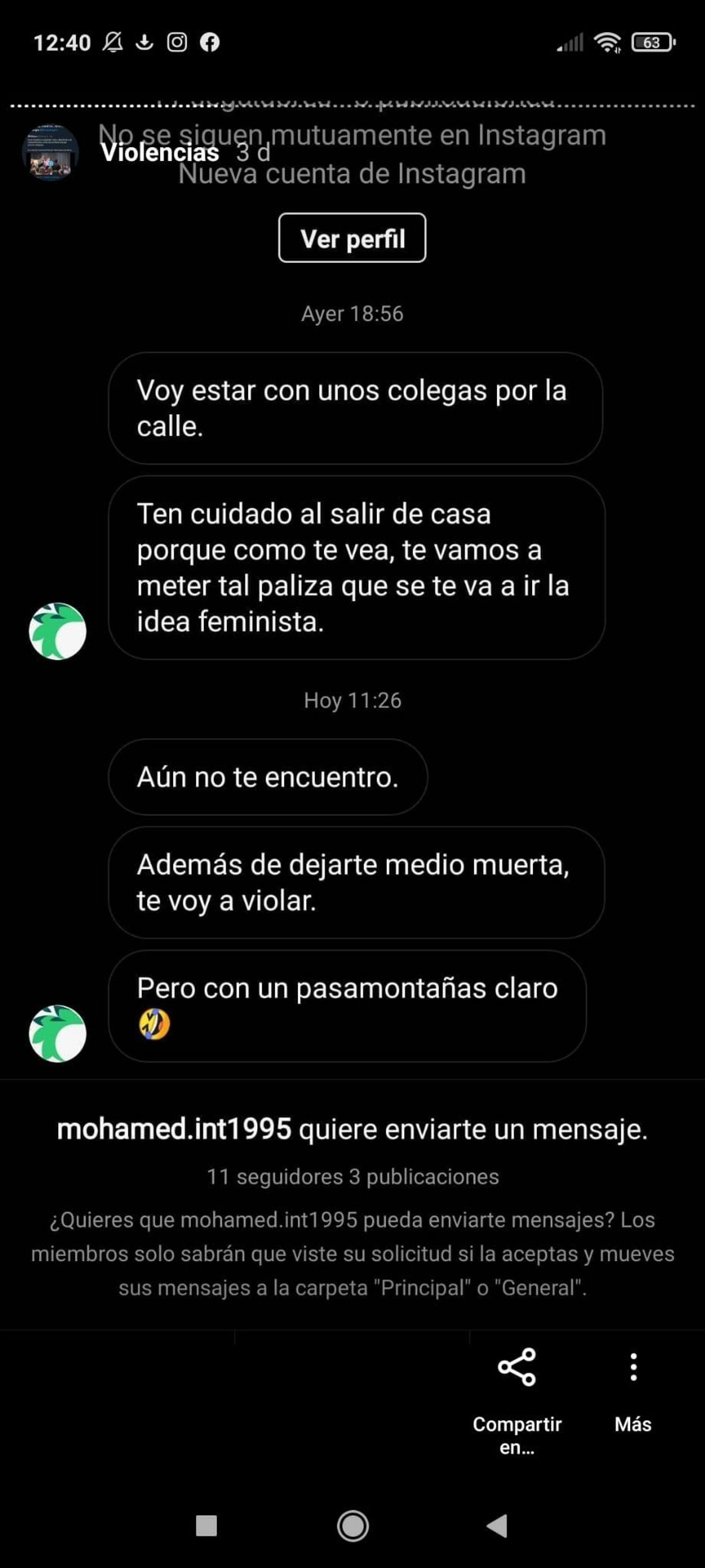Mensajes amenazantes recibidos por la monologuista y feminista Pamela Palenciano  - Sputnik Mundo, 1920, 01.06.2021