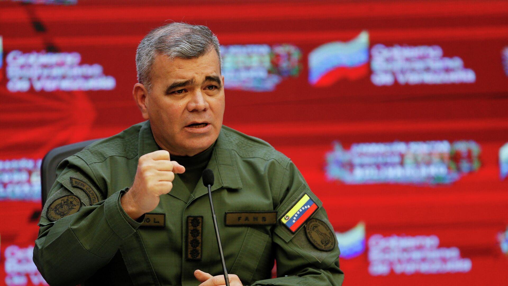 Vladimir Padrino López, ministro de la Defensa de Venezuela - Sputnik Mundo, 1920, 25.06.2021