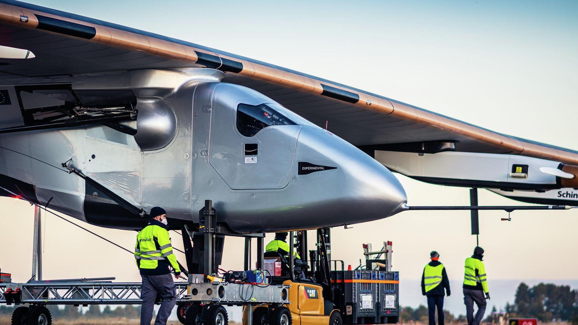 Skydweller Aero pretende convertirse en la empresa aeroespacial que utilice la tecnología de aviación autónoma del futuro - Sputnik Mundo, 1920, 02.06.2021