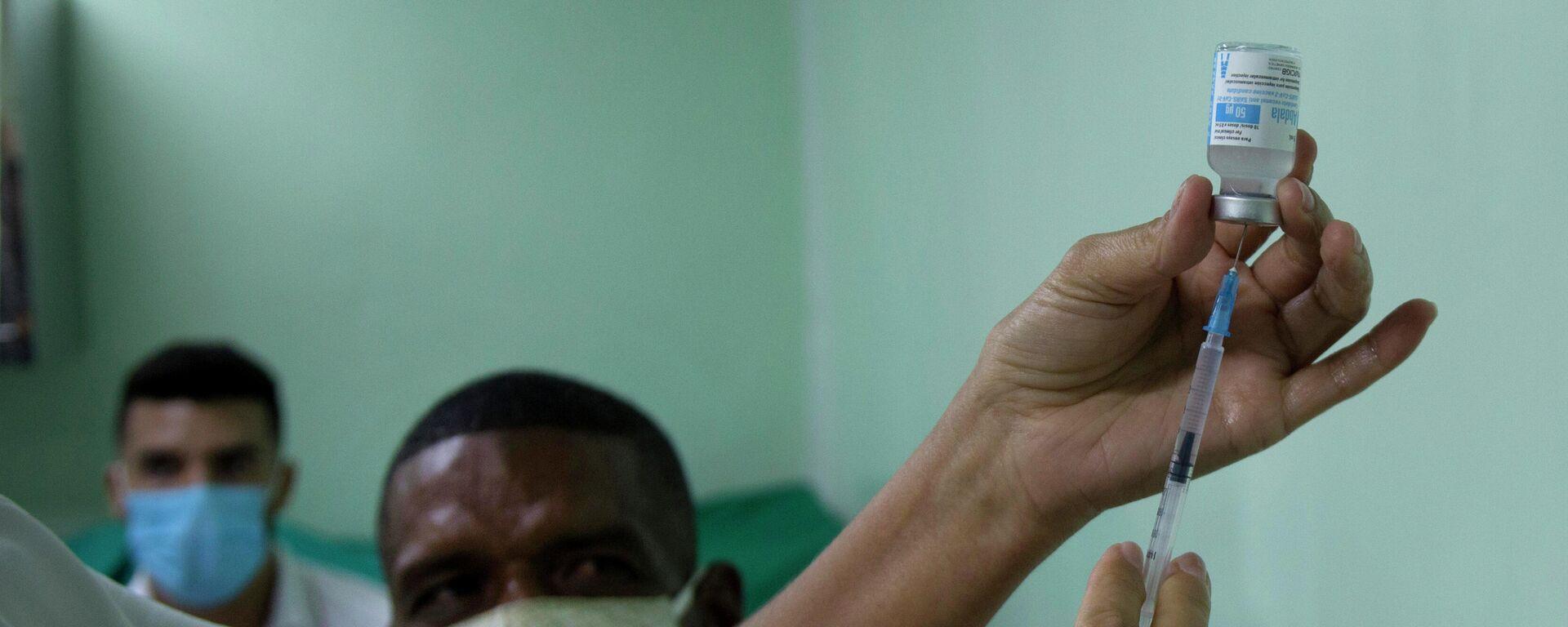 Vacuna cubana contra el coronavirus Abdala - Sputnik Mundo, 1920, 02.08.2021