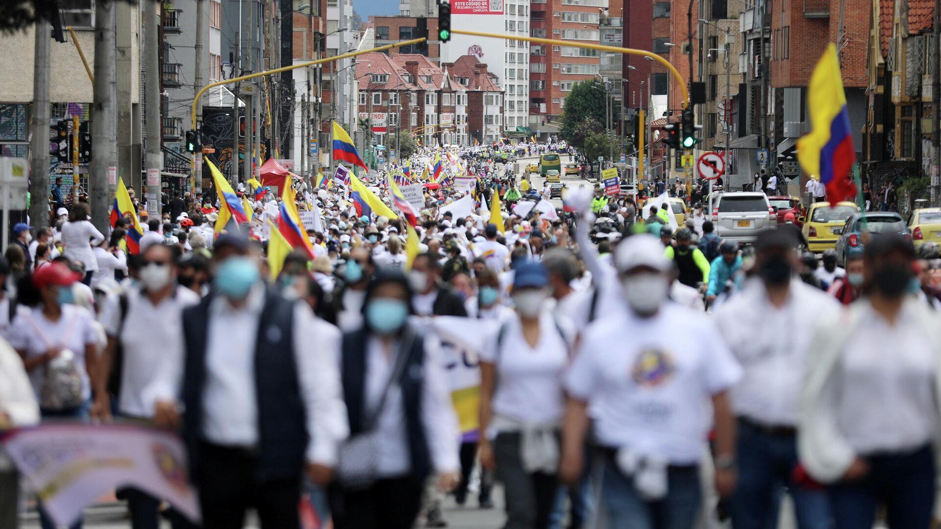 Protestas en Colombia - Sputnik Mundo, 1920, 01.06.2021