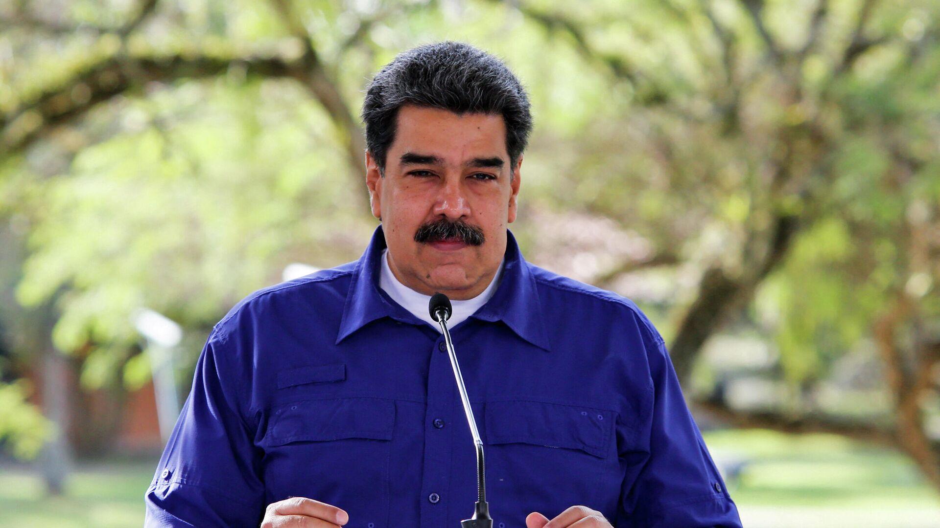 Nicolás Maduro, presidente de Venezuela - Sputnik Mundo, 1920, 01.06.2021