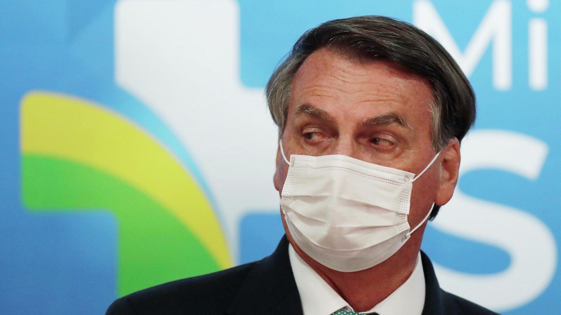 Jair Bolsonaro, presidente de Brasil - Sputnik Mundo, 1920, 15.06.2021