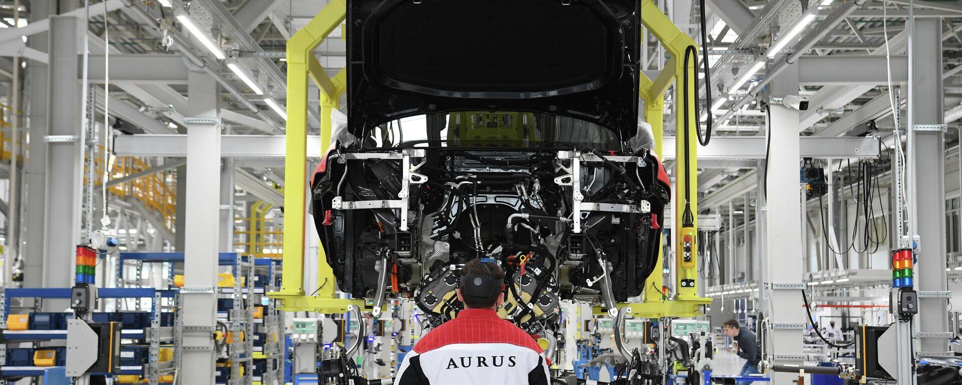 Fábrica de automóviles Aurus en Rusa - Sputnik Mundo, 1920, 02.06.2021
