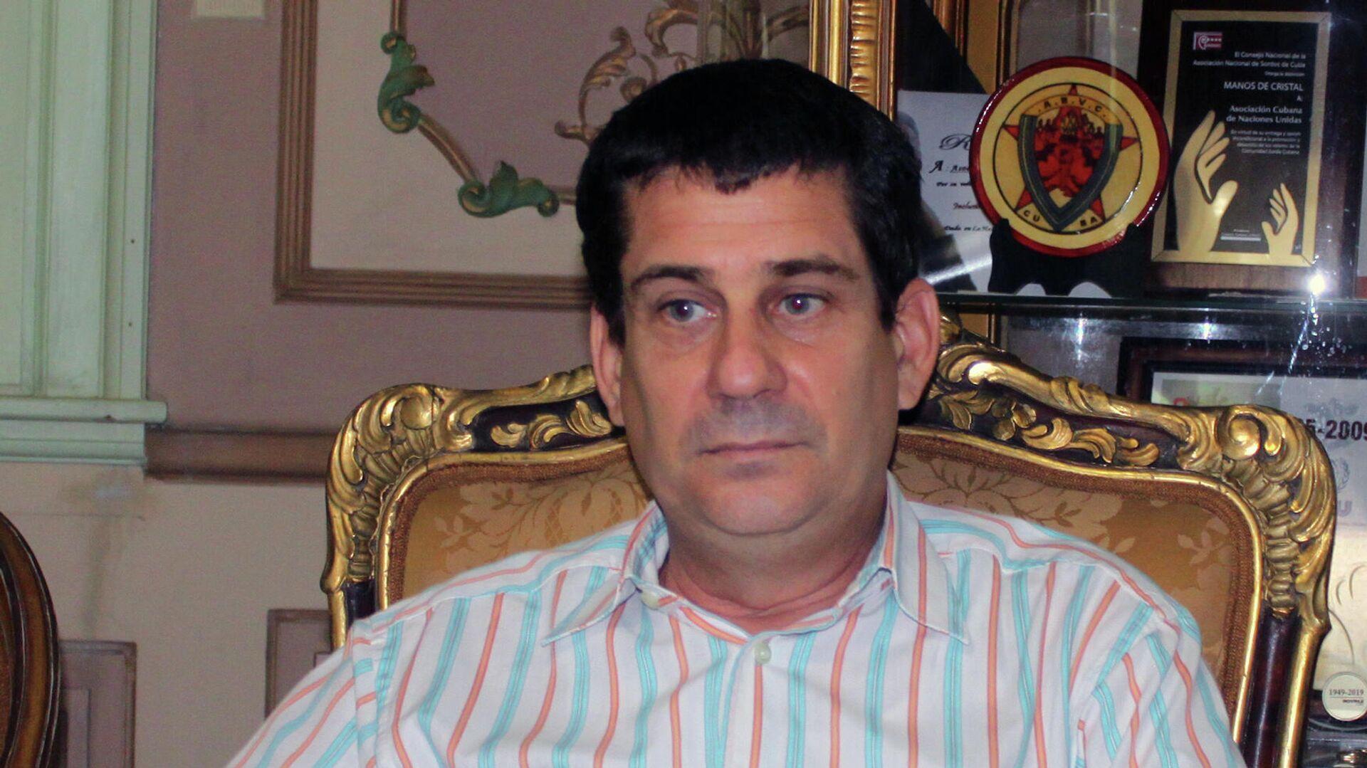 Fermín Quiñones, presidente de la Asociación Cubana de Naciones Unidas - Sputnik Mundo, 1920, 02.06.2021