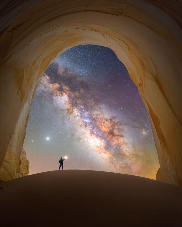 Spencer Welling capturó Chamber of light en el desierto de Utah (EEUU), en el monumento Grand Staircase-Escalante. - Sputnik Mundo