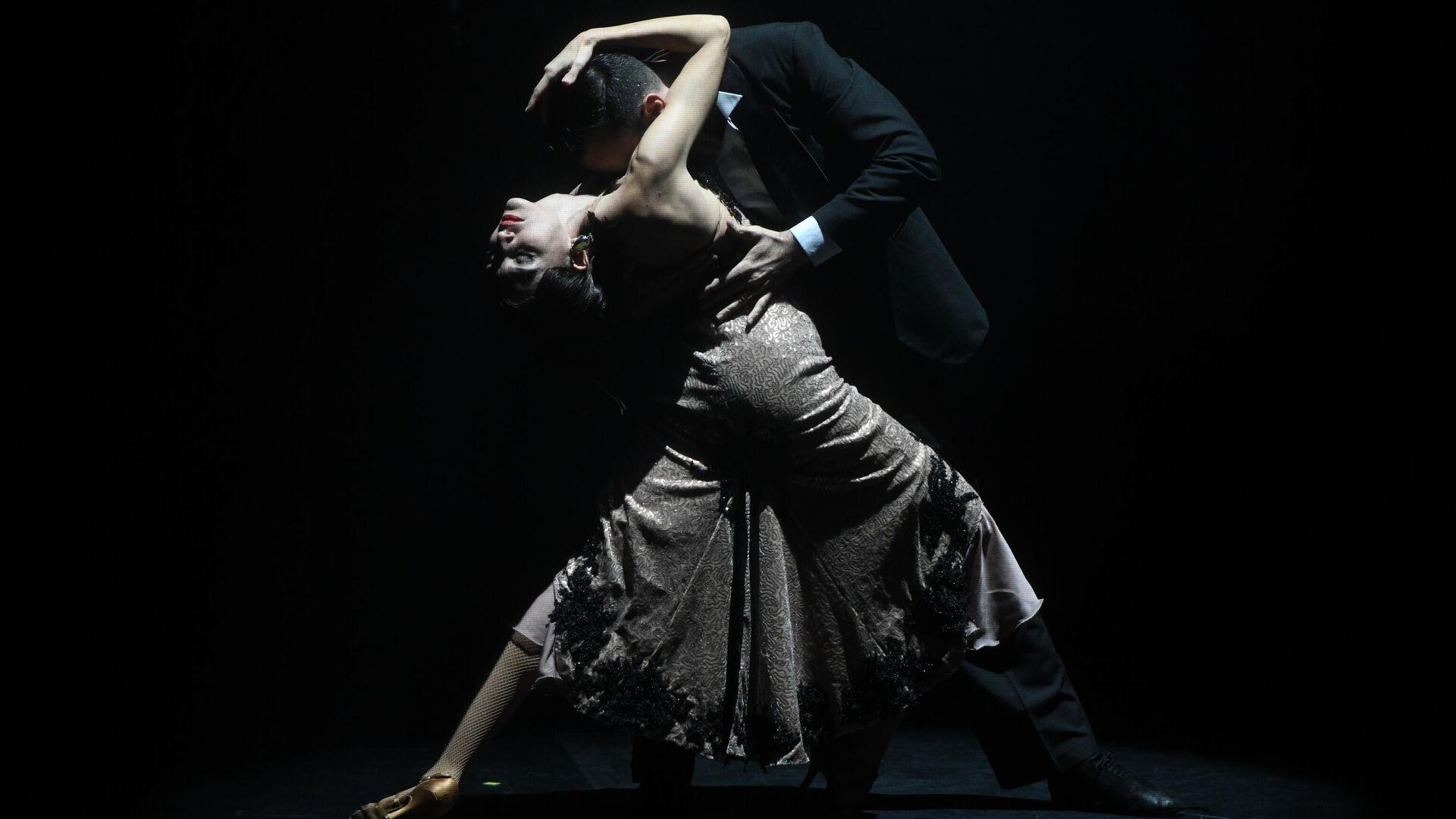 Espectáculo argentino 'Tango After Dark' en el Festival de Teatro Internacional Chéjov - Sputnik Mundo, 1920, 31.05.2021