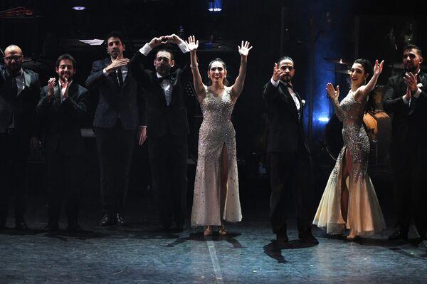 Espectáculo argentino 'Tango After Dark' en el Festival de Teatro Internacional Chéjov - Sputnik Mundo