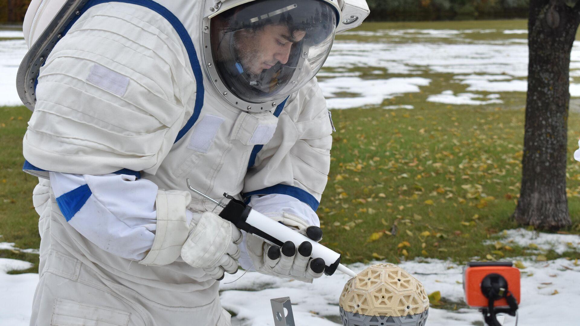 Marcos Bruno participa desde 2016 de iniciativas de exploración espacial preparatorias a las misiones a la luna y Marte - Sputnik Mundo, 1920, 02.06.2021