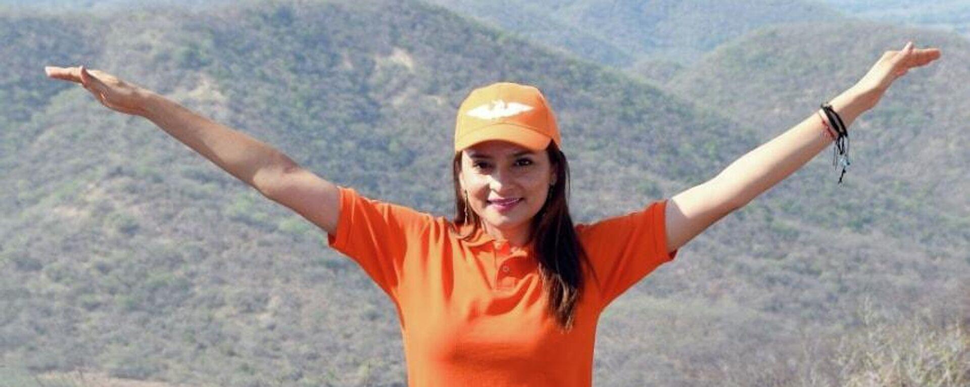 Marilú Martínez Núñez, candidata a alcalde de la población mexicana Cutzamala de Pinzón - Sputnik Mundo, 1920, 02.06.2021