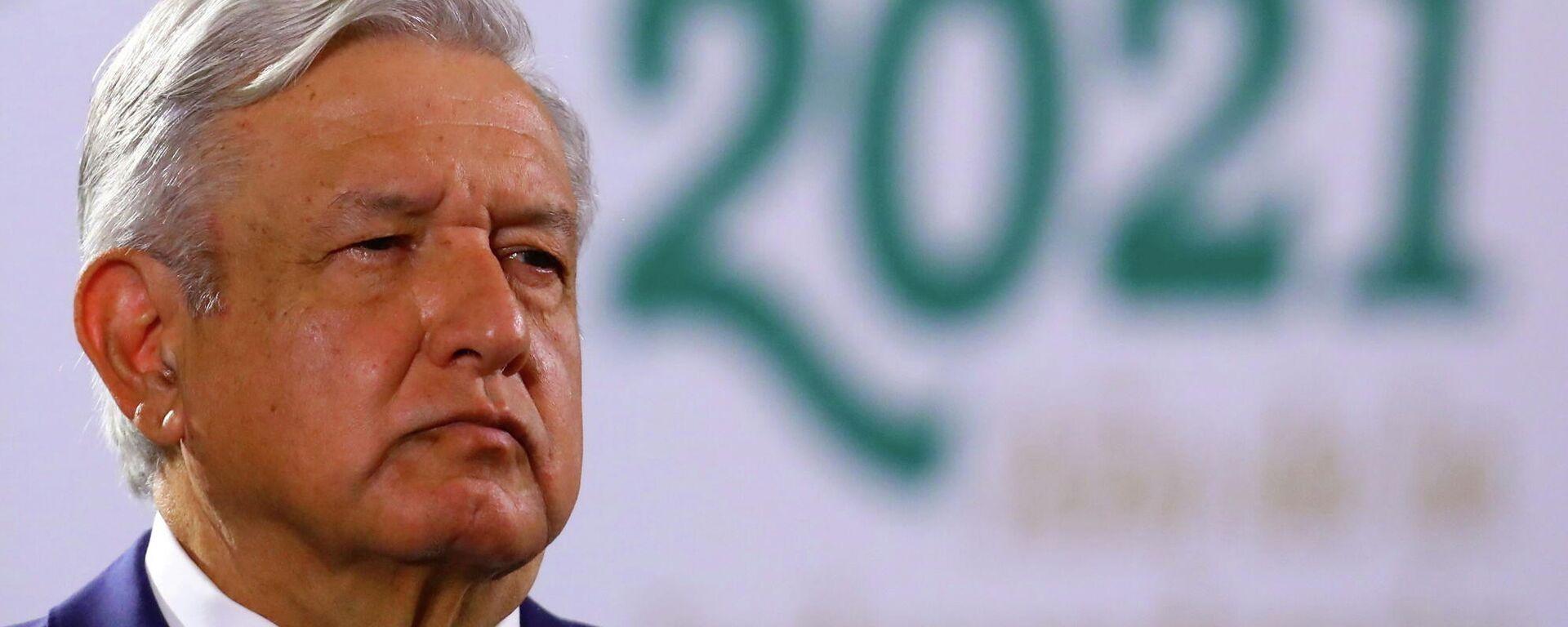 Andrés Manuel López Obrador, presidente de México - Sputnik Mundo, 1920, 02.06.2021