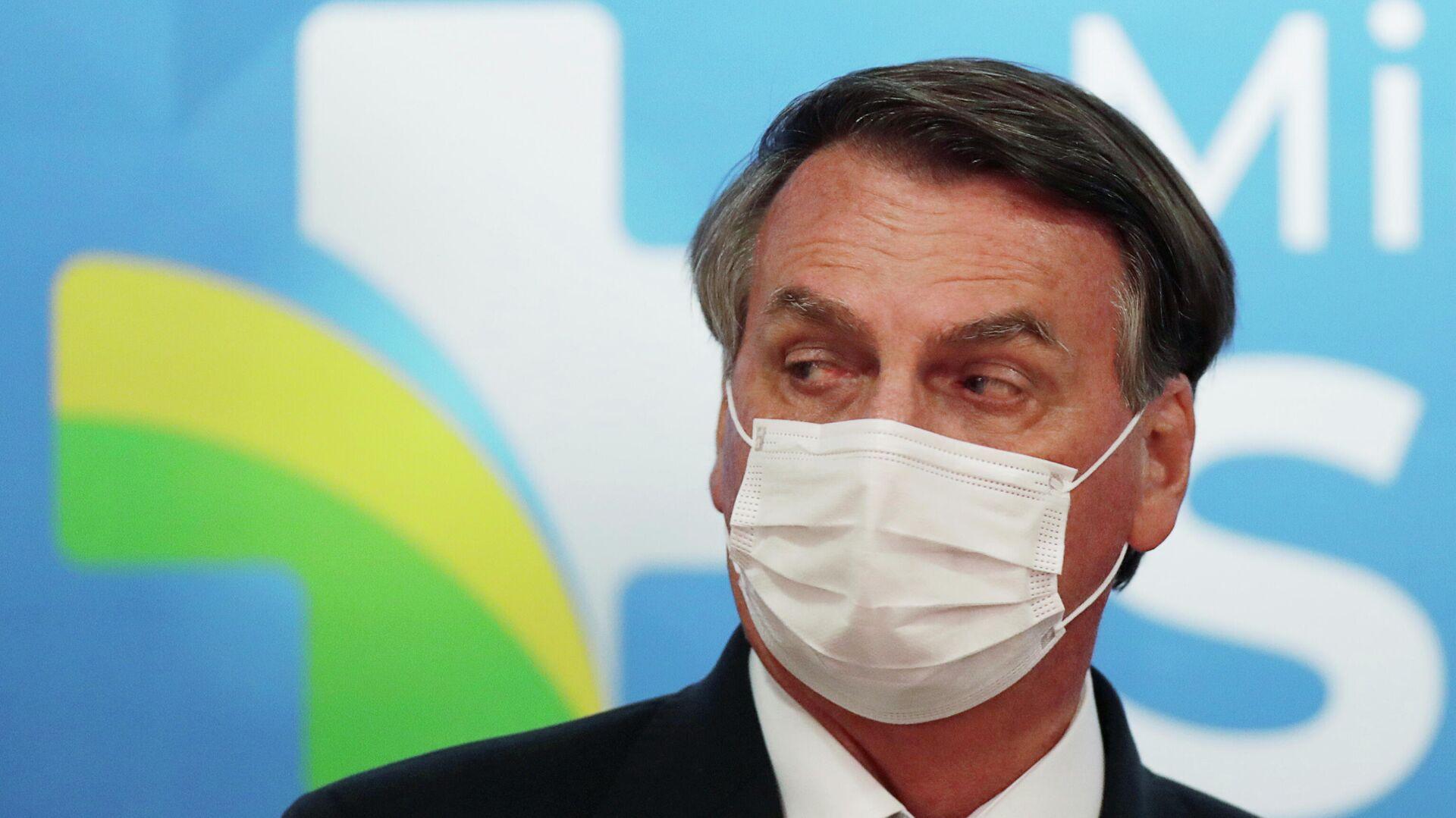 Jair Bolsonaro, presidente de Brasil - Sputnik Mundo, 1920, 03.06.2021