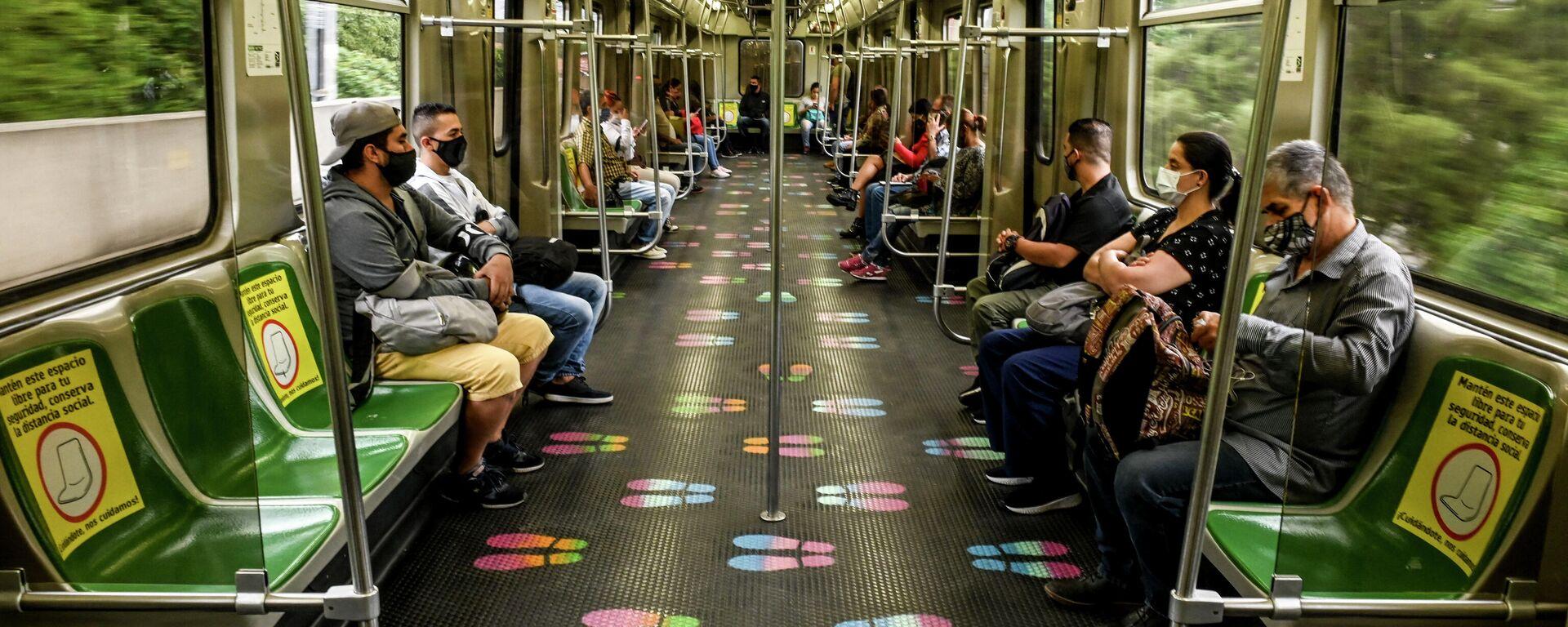 Metro de Medellín, Colombia - Sputnik Mundo, 1920, 03.06.2021