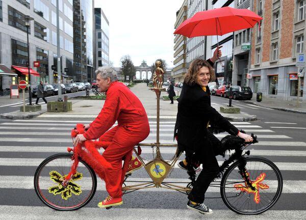 Pueden parecer a simple vista todas iguales, pero lo cierto es que existen varios tipos de bicicletas, inclusive algunas que son muy difíciles de llevar a cualquier parte.  - Sputnik Mundo