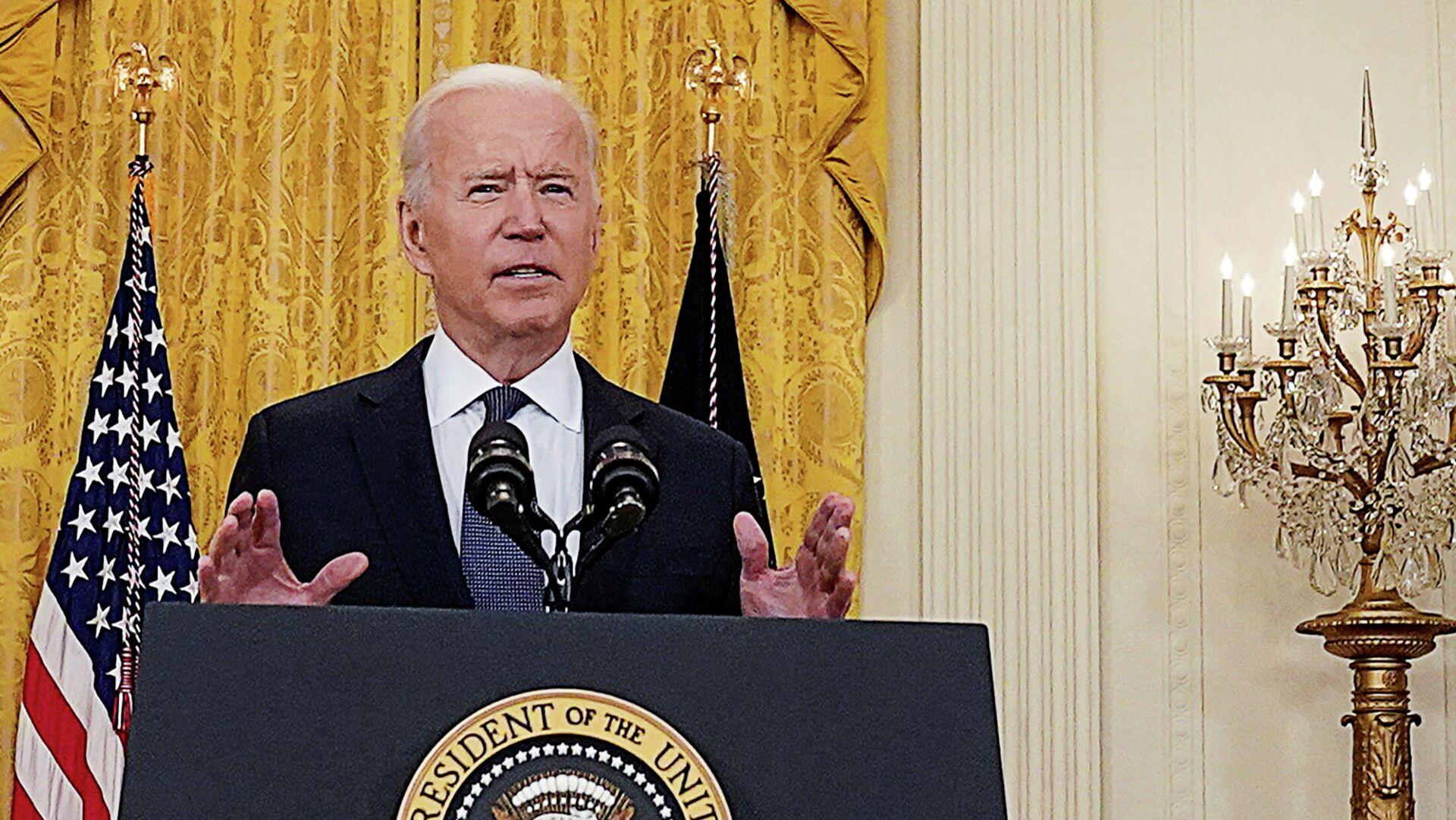 Joe Biden, presidente de Estados Unidos - Sputnik Mundo, 1920, 03.06.2021