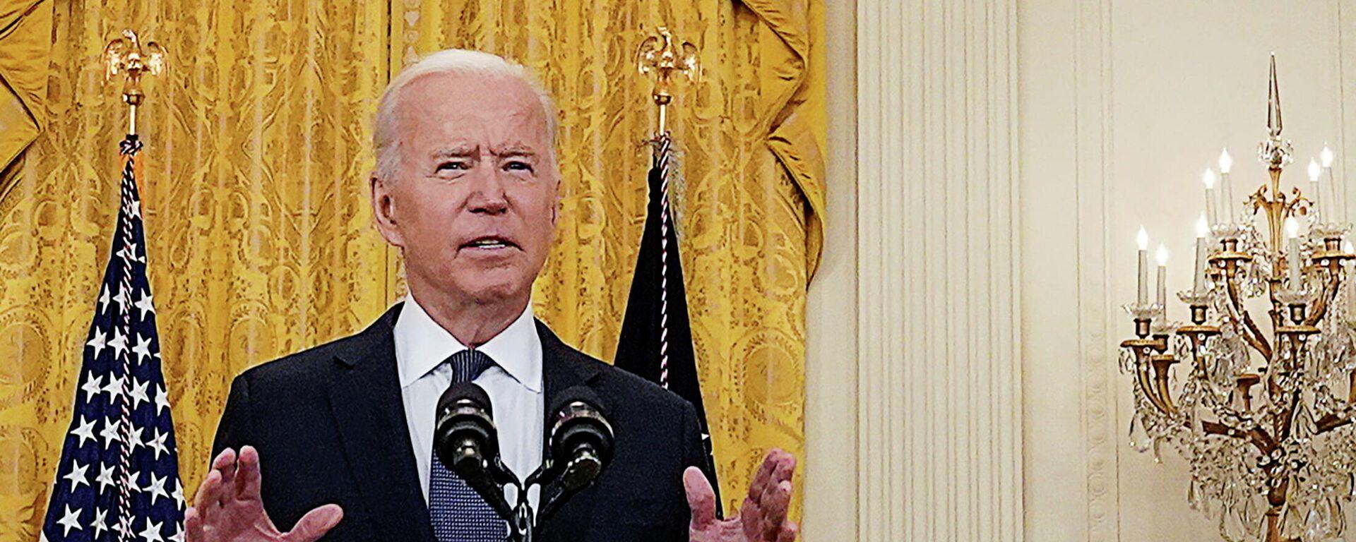 Joe Biden, presidente de Estados Unidos - Sputnik Mundo, 1920, 18.06.2021