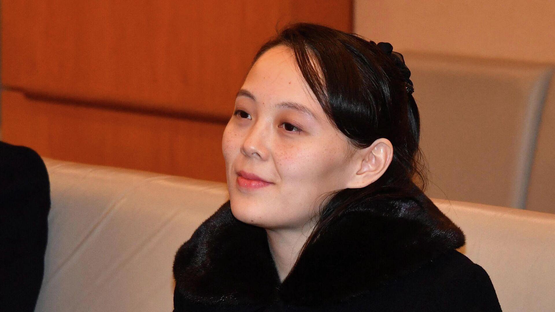 Kim Yo-jong, la hermana del líder norcoreano Kim Jong-un - Sputnik Mundo, 1920, 03.06.2021