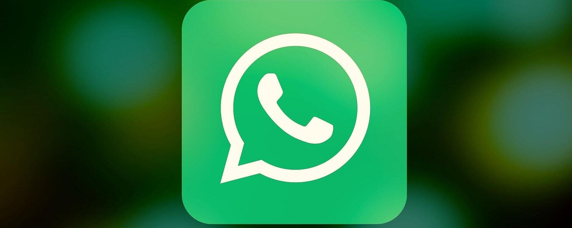 WhatsApp - Sputnik Mundo, 1920, 03.06.2021