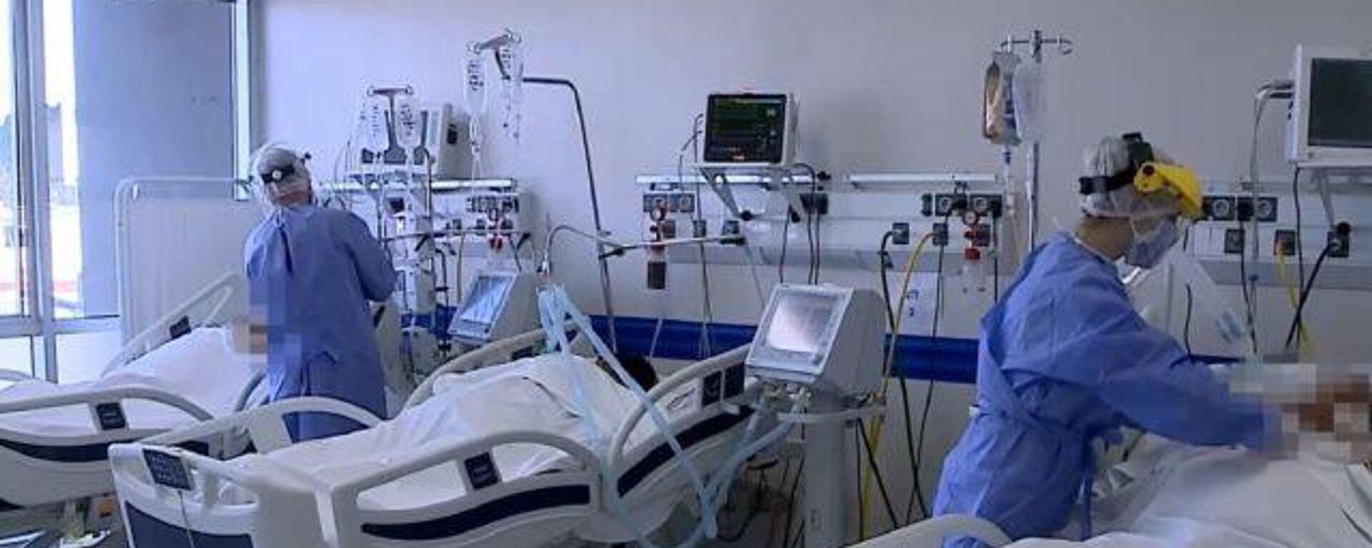 Las unidades de cuidados intensivos están llenas y los casos por COVID-19 aumentan en Argentina - Sputnik Mundo, 1920, 04.06.2021